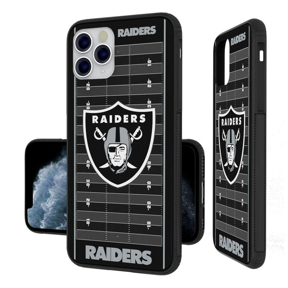 Oakland Raiders Football Field iPhone 11 Pro Max Bumper Case