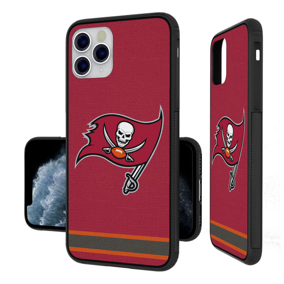 Tampa Bay Buccaneers Stripe iPhone 11 Pro Max Bumper Case