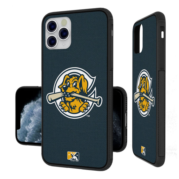 Charleston RiverDogs Solid iPhone 11 Pro Max Bumper Case