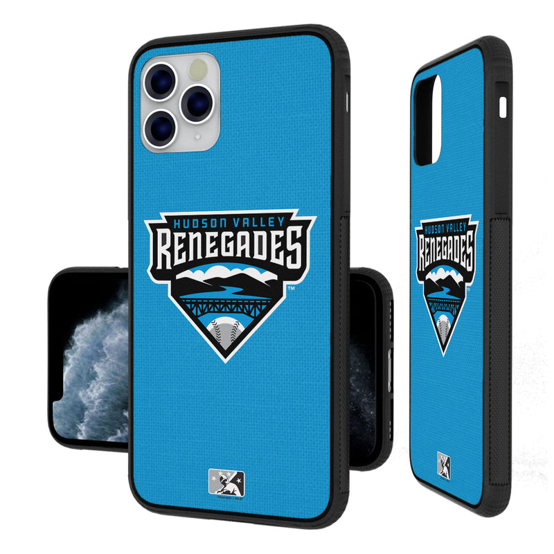 Hudson Valley Renegades Solid iPhone 11 Pro Max Bumper Case