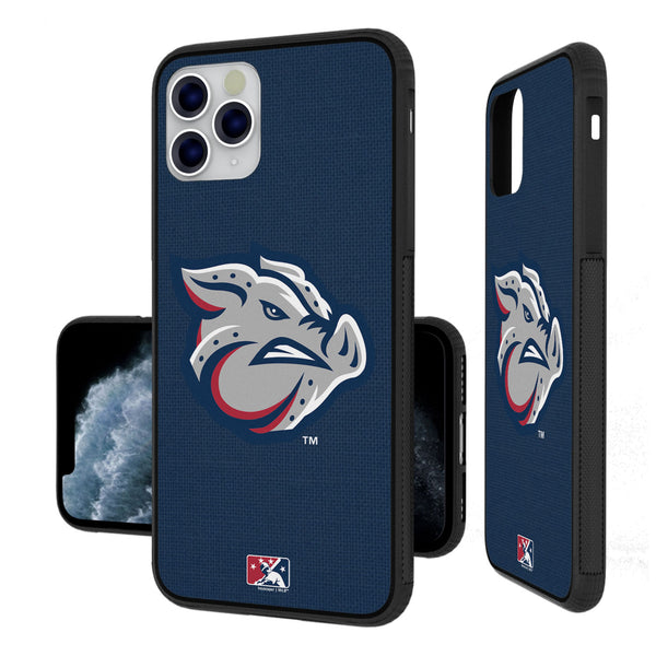 Lehigh Valley IronPigs Solid iPhone 11 Pro Max Bumper Case