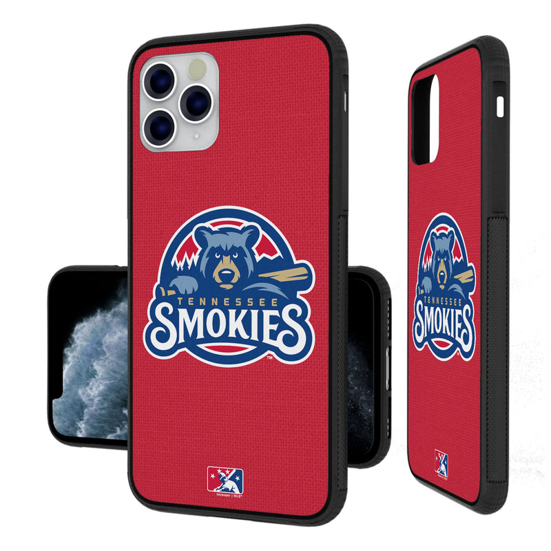 Tennessee Smokies Solid iPhone 11 Pro Max Bumper Case