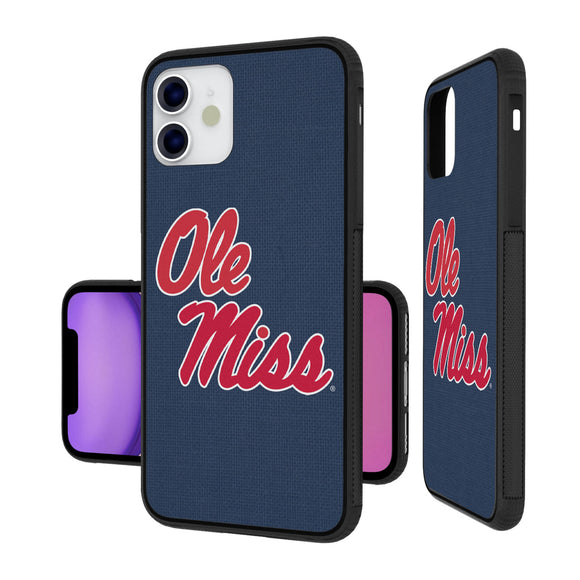 Mississippi Ole Miss Rebels Solid iPhone 11 Bumper Case