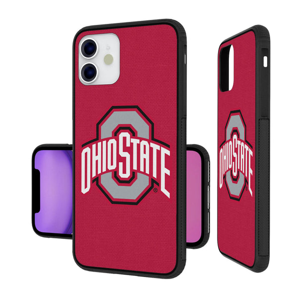 Ohio State Buckeyes Solid iPhone 11 Bumper Case