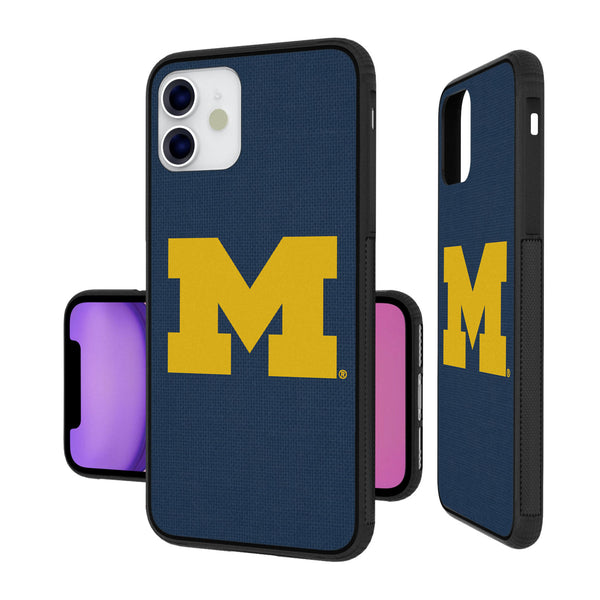 Michigan Wolverines Solid iPhone 11 Bumper Case