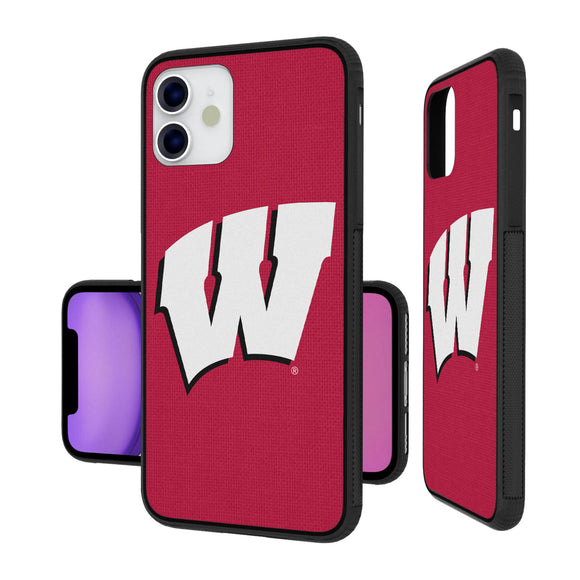 Wisconsin Badgers Solid iPhone 11 Bumper Case
