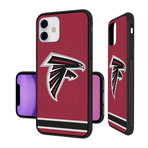 Atlanta Falcons Stripe iPhone 11 Bumper Case