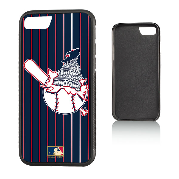 Washington Senators 1953-1956 - Cooperstown Collection Pinstripe iPhone 7 / 8 Bump Case