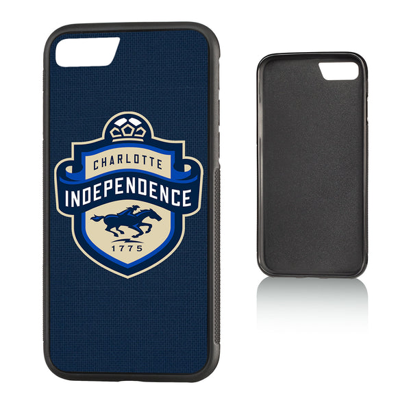 Charlotte Independance Diagonal Stripe iPhone 7 / 8 Bump Case