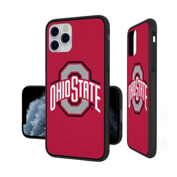Ohio State Buckeyes Solid iPhone 11 Pro Bumper Case