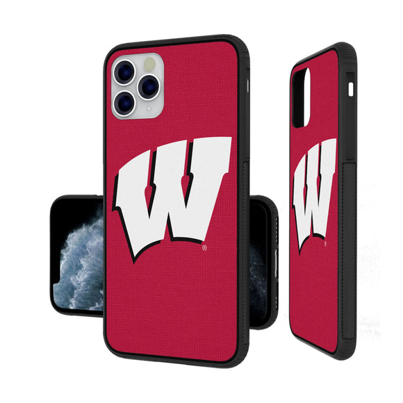Wisconsin Badgers Solid iPhone 11 Pro Bumper Case
