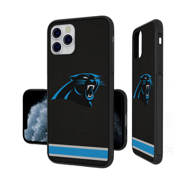 Carolina Panthers Stripe iPhone 11 Pro Bumper Case