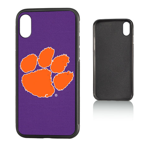 CU Clemson Tigers Solid Bump Case for iPhone X