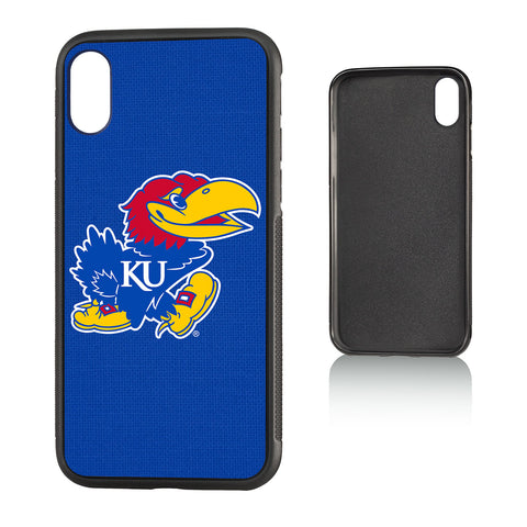 KU Kansas Jayhawks Solid Bump Case for iPhone X
