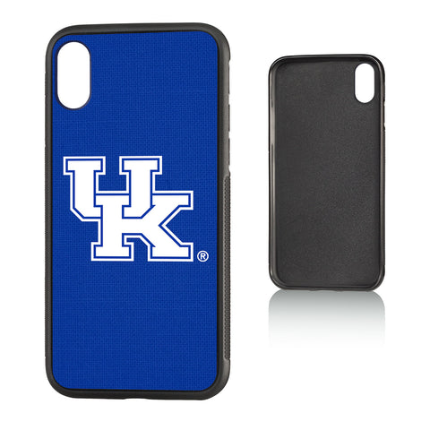 UK Kentucky Wildcats Solid Bump Case for iPhone X