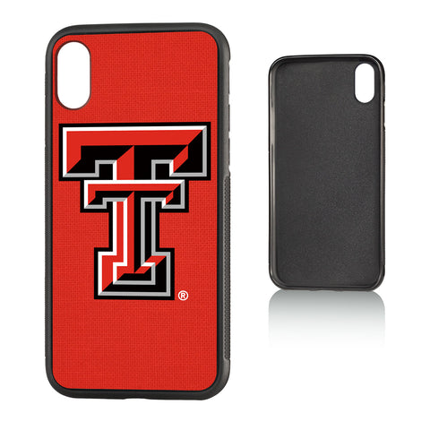 TT Texas Tech Red Raiders Solid Bump Case for iPhone X