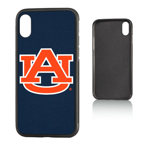 AU Auburn Tigers Solid Bump Case for iPhone X