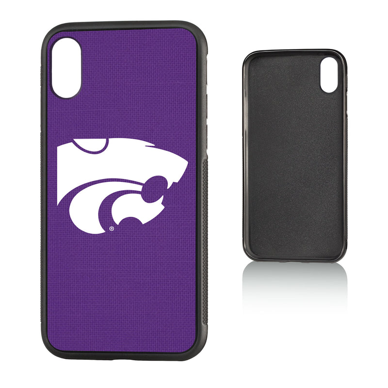 Kansas State Wildcats Solid iPhone X / XS Bumper Case
