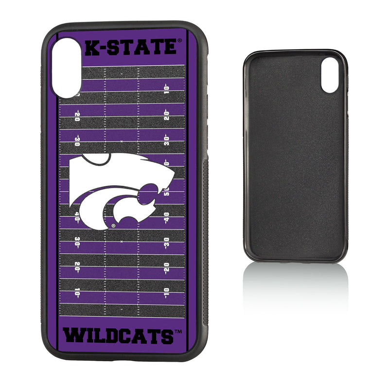 Kansas State Wildcats Football Field iPhone X / XS Bumper Case