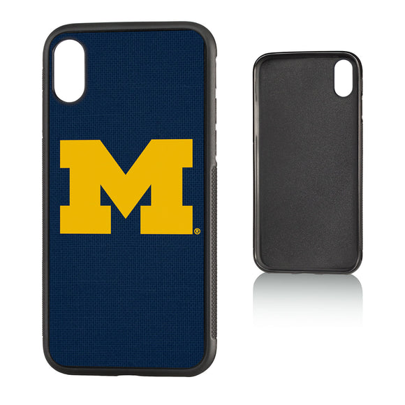 Michigan Wolverines Solid Bump Case for iPhone X