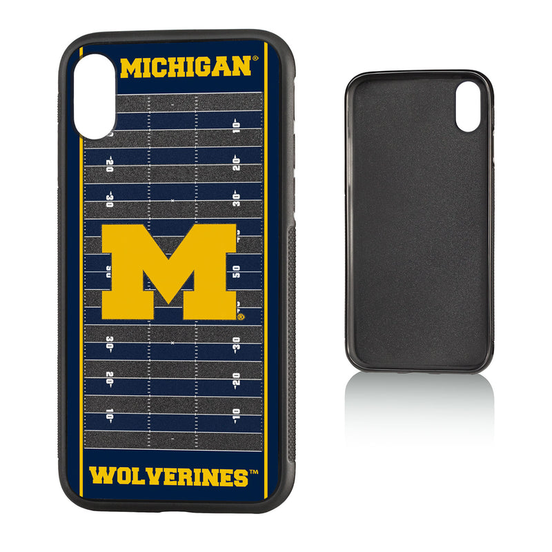 Michigan Wolverines Football Field iPhone X / XS Bumper Case