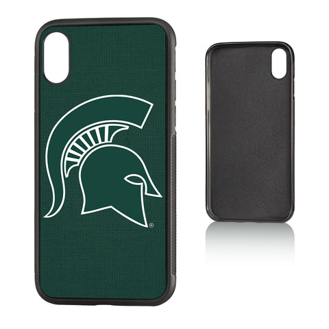 MSU Michigan State Spartans Solid Bump Case for iPhone X