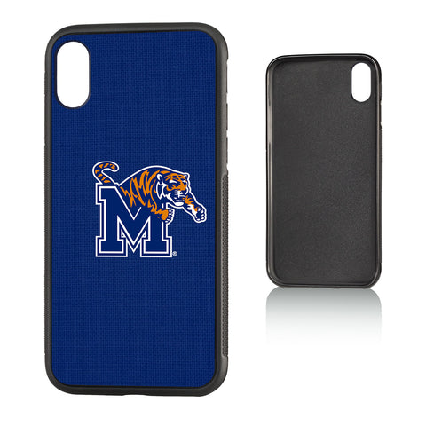 U of M Memphis Tigers Solid Bump Case for iPhone X