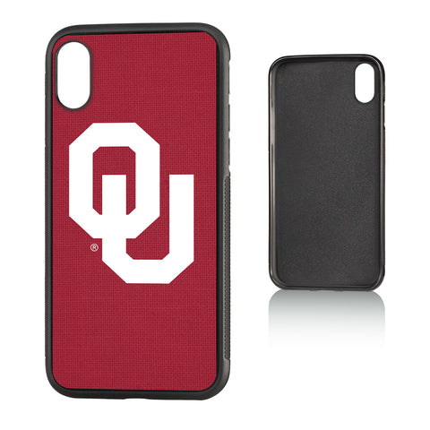 Oklahoma Sooners Solid Bump Case for iPhone X