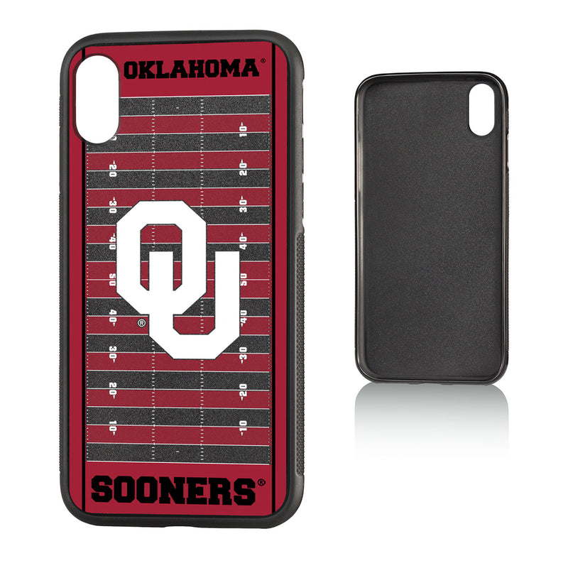 Oklahoma Sooners Football Field iPhone X / XS Bumper Case