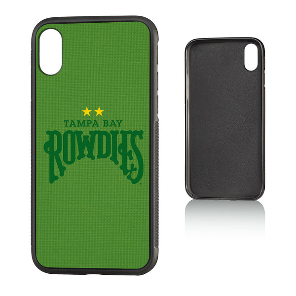 Tampa Bay Rowdies Diagonal Stripe iPhone X / XS Bumper Case