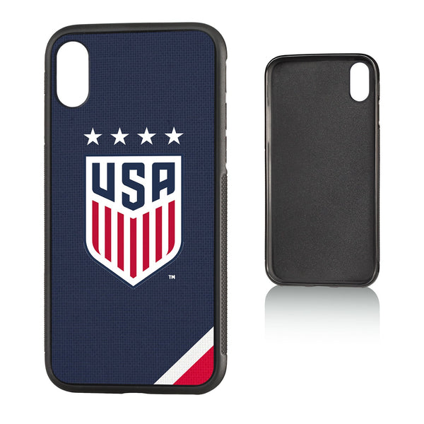United States Womens National Team Diagonal Stripe iPhone X / XS Bumper Case