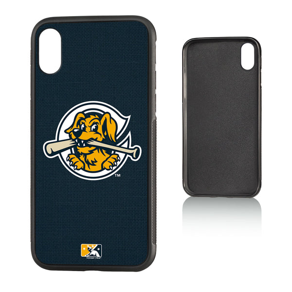 Charleston RiverDogs Solid iPhone X / XS Bumper Case