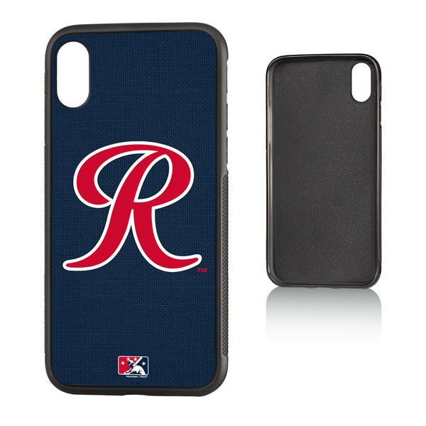 Tacoma Rainiers Solid iPhone X / XS Bumper Case