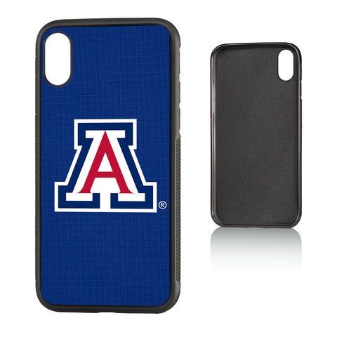 U of A Arizona Wildcats Solid Bump Case for iPhone X
