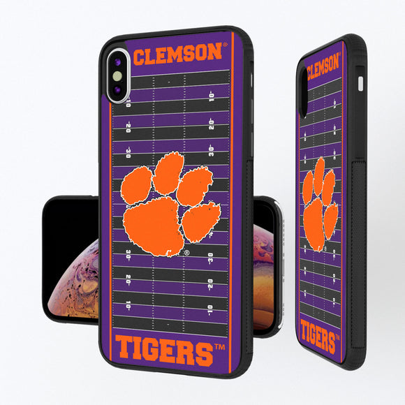 Clemson Tigers Football Field iPhone XS Max Bump Case