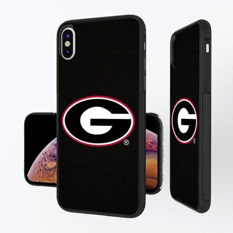 Georgia Bulldogs Solid iPhone XS Max Bump Case