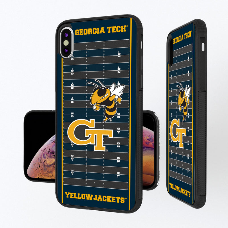 Georgia Tech Yellow Jackets Football Field iPhone XS Max Bump Case