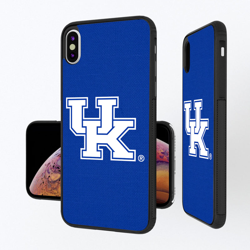 Kentucky Wildcats Solid iPhone XS Max Bump Case