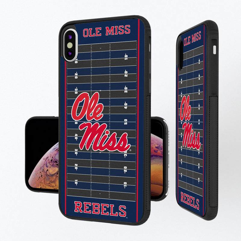 Mississippi Ole Miss Rebels Football Field iPhone XS Max Bump Case