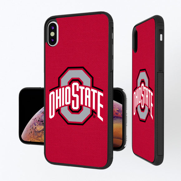 Ohio State Buckeyes Solid iPhone XS Max Bump Case