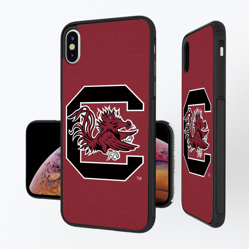 South Carolina Fighting Gamecocks Solid iPhone XS Max Bump Case