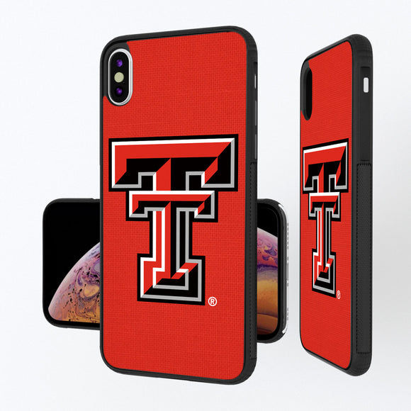 Texas Tech Red Raiders Solid iPhone XS Max Bump Case