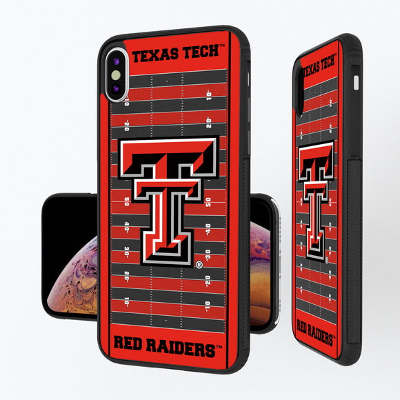 Texas Tech Red Raiders Football Field iPhone XS Max Bump Case