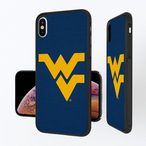 West Virginia Mountaineers Solid iPhone XS Max Bump Case