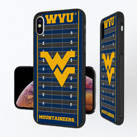 West Virginia Mountaineers Football Field iPhone XS Max Bump Case