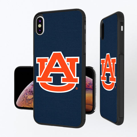 Auburn Tigers Solid iPhone XS Max Bump Case