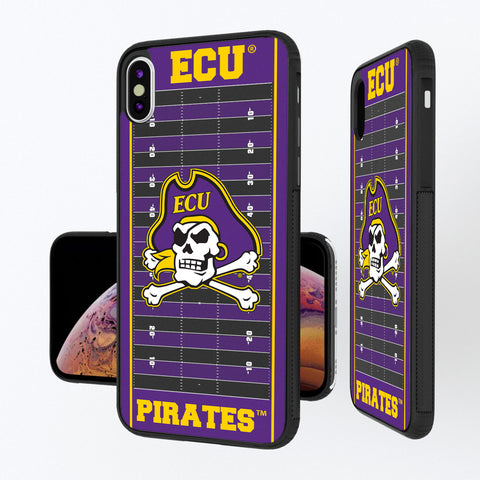 East Carolina Pirates Football Field iPhone XS Max Bump Case