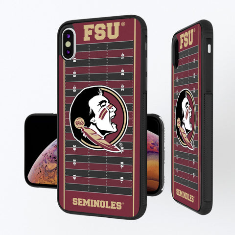 Florida State Seminoles Football Field iPhone XS Max Bump Case