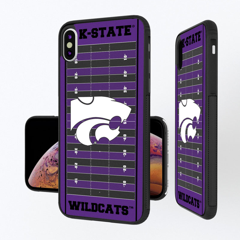 Kansas State Wildcats Football Field iPhone XS Max Bump Case