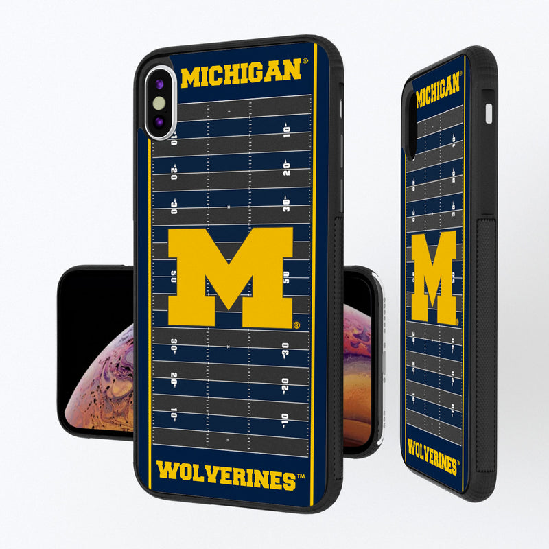 Michigan Wolverines Football Field iPhone XS Max Bump Case